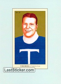 Turk Broda (100 Years of Hockey Card Collecting)