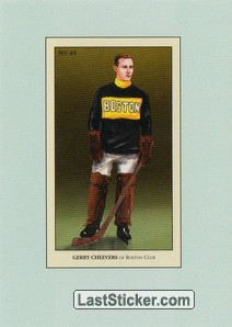 Gerry Cheevers (100 Years of Hockey Card Collecting)