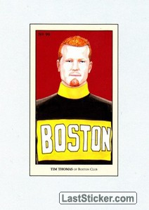 Tim Thomas (100 Years of Hockey Card Collecting)