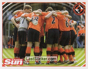 Match action (Dundee United)