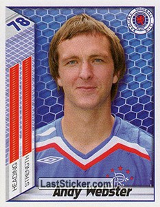 Andy Webster (Rangers)