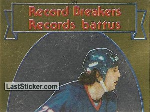 Mike Bossy (1 of 2) (1982-83 Record Breakers)