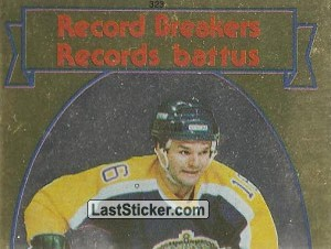 Marcel Dionne (1 of 2) (1982-83 Record Breakers)