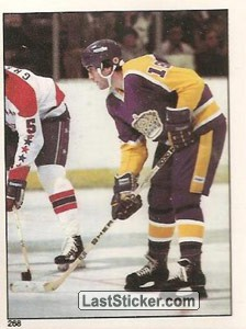 "Dave Taylor - Right Wing (Kings ""Triple Crowne Line"")"