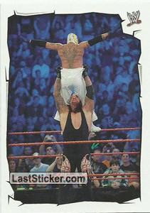 Undertaker vs Rey Mysterio (Royal Rumble)