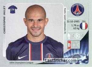 Christophe Jallet (Paris Saint-Germain FC)
