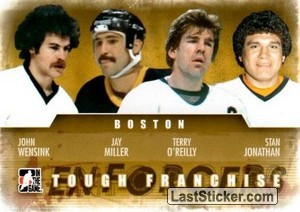 John Wensink / Jay Miller / Terry O'Reilly / Stan Jonathan (Tough Franchise)