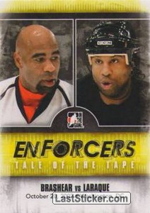 Donald Brashear / Georges Laraque (Tale Of The Tape)