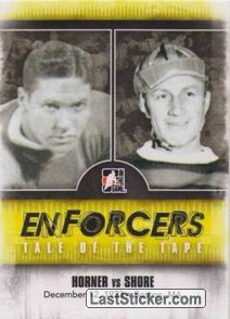 Red Horner / Eddie Shore (Tale Of The Tape)