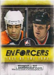 Donald Brashear / Rob Ray (Tale Of The Tape)