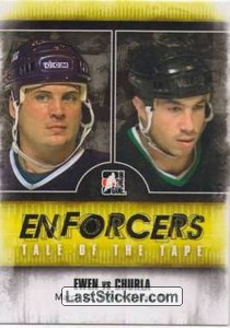 Todd Ewen / Shane Churla (Tale Of The Tape)