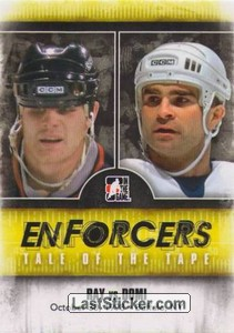 Rob Ray / Tie Domi (Tale Of The Tape)