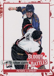 Andrew Peters / Ray Emery (Bloody Battles)