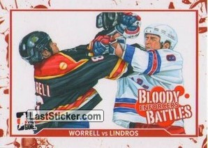 Peter Worrell / Eric Lindros (Bloody Battles)