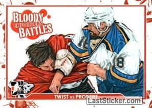 Tony Twist / Bob Probert (Bloody Battles)