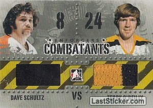 Dave Schultz / Terry O'Reilly (Combatants)