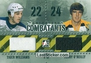 Tiger Williams / Terry O'Reilly (Combatants)