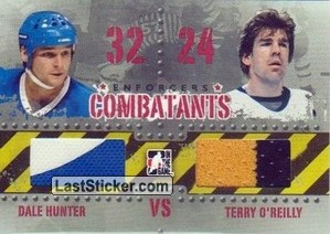 Dale Hunter / Terry O'Reilly (Combatants)