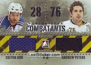 Colton Orr / Andrew Peters (Combatants)