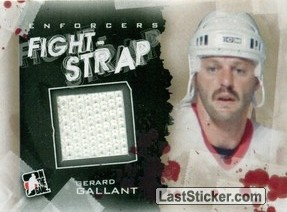 Gerard Gallant (Fight Strap)