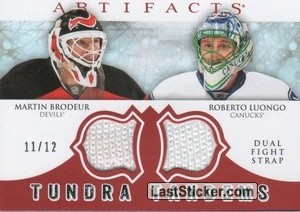 Martin Brodeur / Roberto Luongo (New Jersey Devils / Vancouver Canucks)