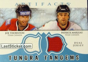 Joe Thornton / Patrick Marleau (Team Canada)