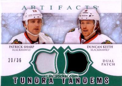 Patrick Sharp / Duncan Keith (Chicago Blackhawks)
