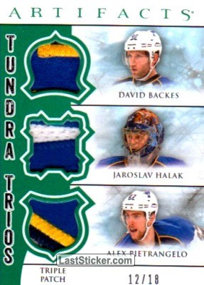 David Backes / Jaroslav Halak / Alex Pietrangelo (St. Louis Blues)