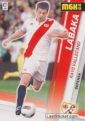 Labaka (Rayo Vallecano)