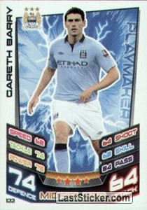 Gareth Barry (Manchester City)