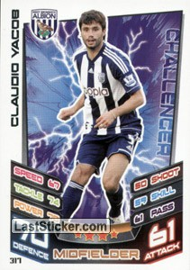 Claudio Yacob (West Bromwich)