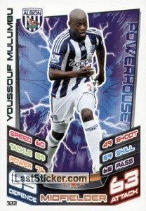 Youssouf Mulumbu (West Bromwich)