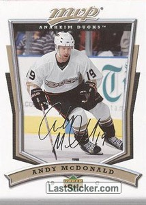 Andy McDonald (Anaheim Ducks)