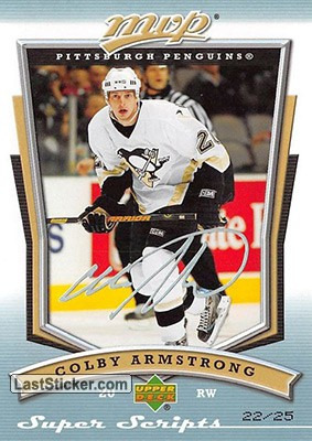 Colby Armstrong (Pittsburgh Penguins)