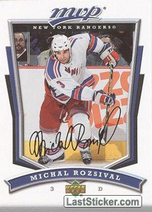 Michal Rozsival (New York Rangers)