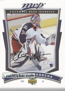 Fredrik Norrena (Columbus Blue Jackets)