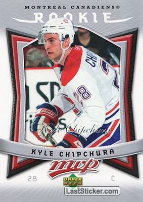 Kyle Chipchura (Montreal Canadiens)