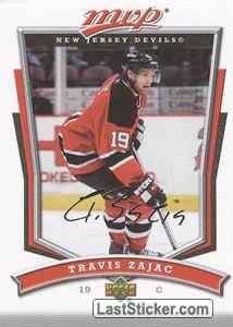 Travis Zajac (New Jersey Devils)
