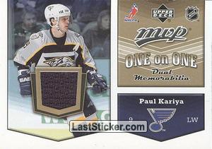 Paul Kariya / Rick Nash (St. Louis Blues / Columbus Blue Jackets)
