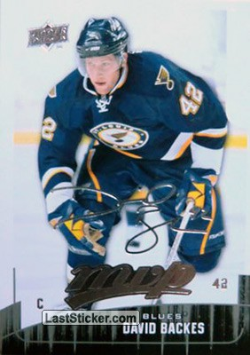 David Backes (St. Louis Blues)