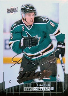 Joe Pavelski (San Jose Sharks)