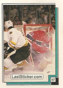 Boston Bruins vs Montreal Canadiens (1987-88 Action)