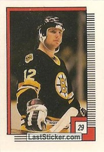 Randy Burridge (Boston Bruins)