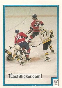 Boston Bruins vs Montreal Canadiens (1988-89 Stats)