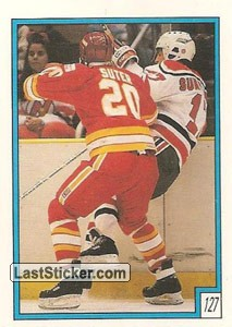 Calgary Flames vs New Jersey Devils (1988-89 Stats)