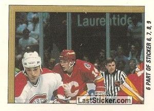 Calgary Flames vs Montreal Canadiens (1 of 4) (1989 Stanley Cup Final)