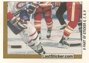Calgary Flames vs Montreal Canadiens (3 of 4) (1989 Stanley Cup Final)