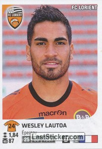 Wesley Lautoa (FC Lorient)