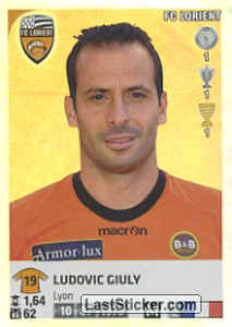 Ludovic Giuly (FC Lorient)
