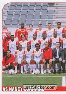 Equipe AS Nancy Lorraine (AS Nancy Lorraine)